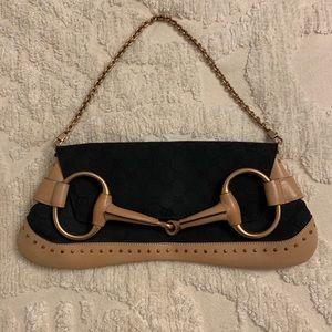 Gucci horsebit clutch / evening bag